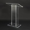 Large Top Design Clear Acrylic Full Floor Lectern