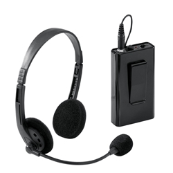 LWM-7 - Wireless Headset Microphone for Lectern with Sound Oklahoma Sound,LWM-7,Microphone,Wireless,Headset