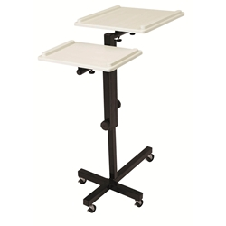 PRC-100 - AV Multimedia Presentation Cart with 2 Height Adjusting/Tilting Tops Oklahoma Sound,PRC100,PRC 100,PRC100,PRC-100,PRC 100,PRC100,PRC-100