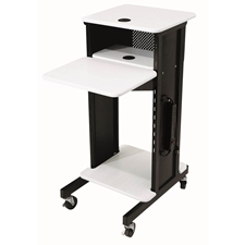 PRC-200 - AV Multimedia Presentation Cart with 4 Shelves and 6-Outlet Powerstrip Oklahoma Sound,PRC200,PRC 200,PRC200,PRC-200,PRC 200,PRC200,PRC-200