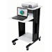 PRC200 - AV Multimedia Presentation Cart with 4 Shelves and 6-Outlet Powerstrip - PRC200