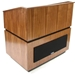 Amplivox Coventry Solid Hardwood Multimedia Lectern with Wireless Sound and Maple Finish - SW3030-MP