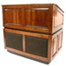 Amplivox Ambassador Solid Hardwood Multimedia Lectern with Wireless Sound and Maple Finish - SW3035-MP