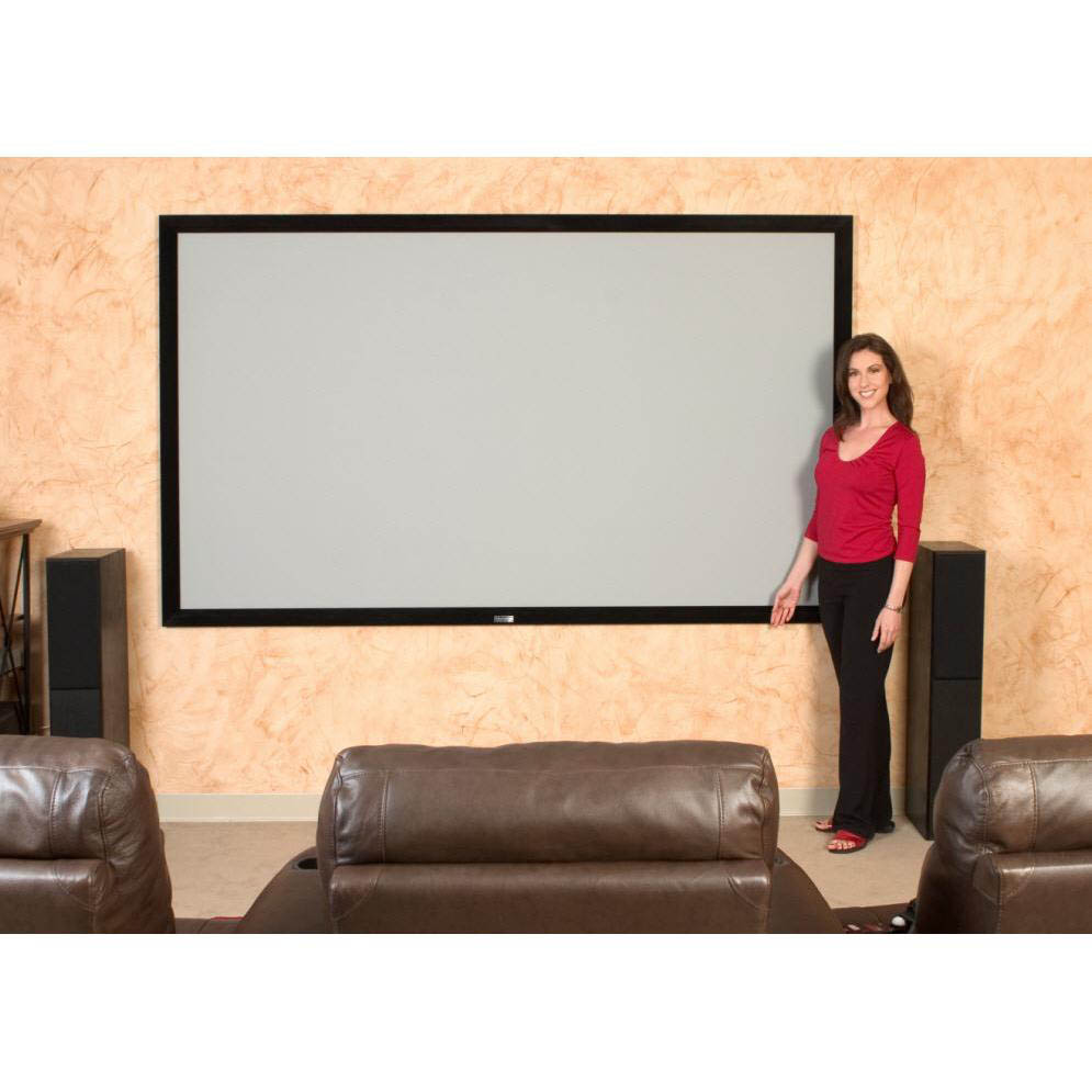 Elite Screens Er110dhd3 Sable Frame Ambient Light Rejecting Alr Fixed Frame Projector Projection Screen 16 9